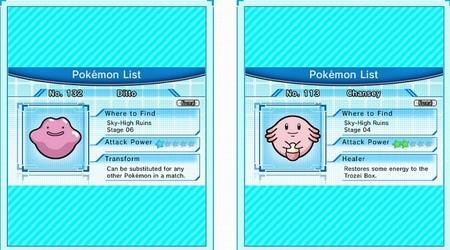 Habilidades en Pokémon Trozei