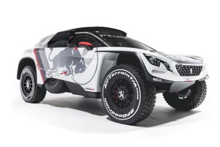 Peugeot apuesta por el 3008 para el Dakar 2017