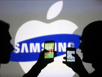 Samsung se salva de pagar 399 millones de dólares a Apple por copiar las patentes de diseño del iPhone