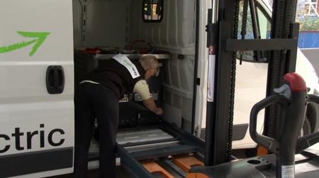 GreenWay, una alternativa de intercambio de baterías para furgonetas eléctricas