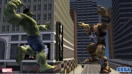 Capturas de la versión para Wii de 'The Incredible Hulk'