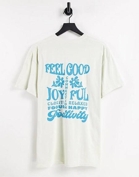 Camiseta Blanca Asos