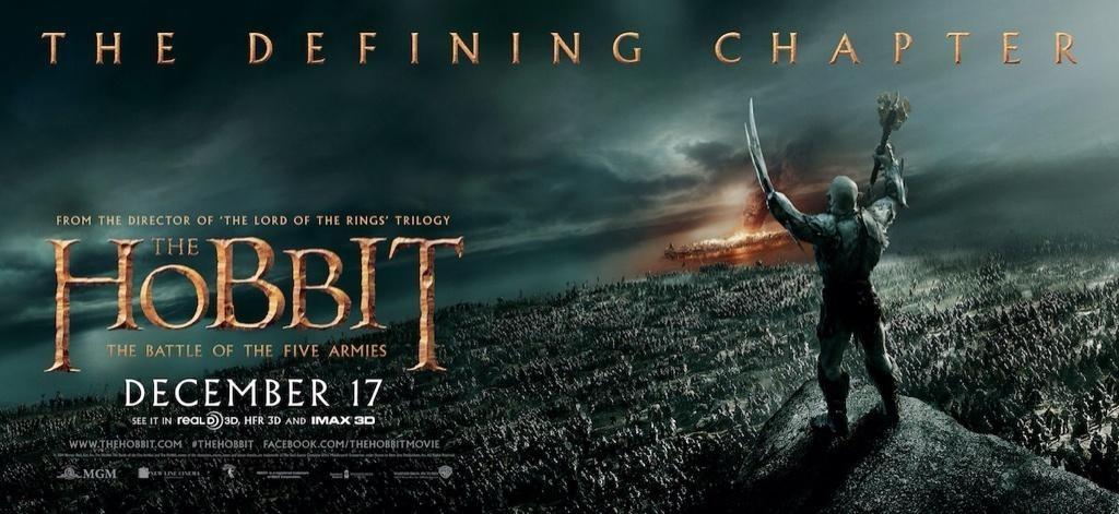 Foto de 'El hobbit: La batalla de los cinco ejércitos', carteles (17/29)