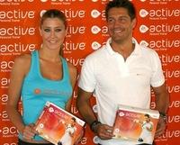 Elisabeth Reyes y Jaime Cantizano apadrinan un juego de la Wii