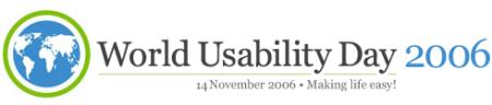 World Usability Day 2006