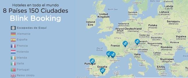 Paises Blink Mapa