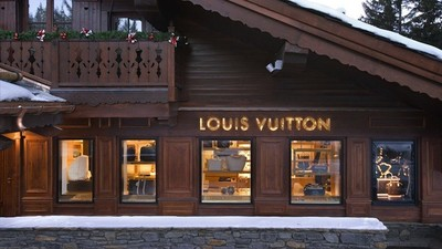 Louis Vuitton se une a la moda de las Pop-Up Boutique en Courchevel