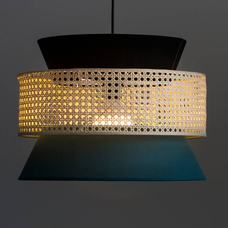 Lámpara de techo con rejilla