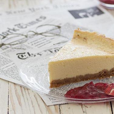 New York Cheesecake: receta de tarta de queso al estilo neoyorquino