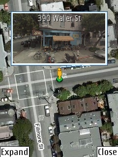 Google Maps Mobile con Street View