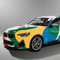 Más mexicano no se puede, el Serie 2 Coupé 2022 es el nuevo art car de BMW