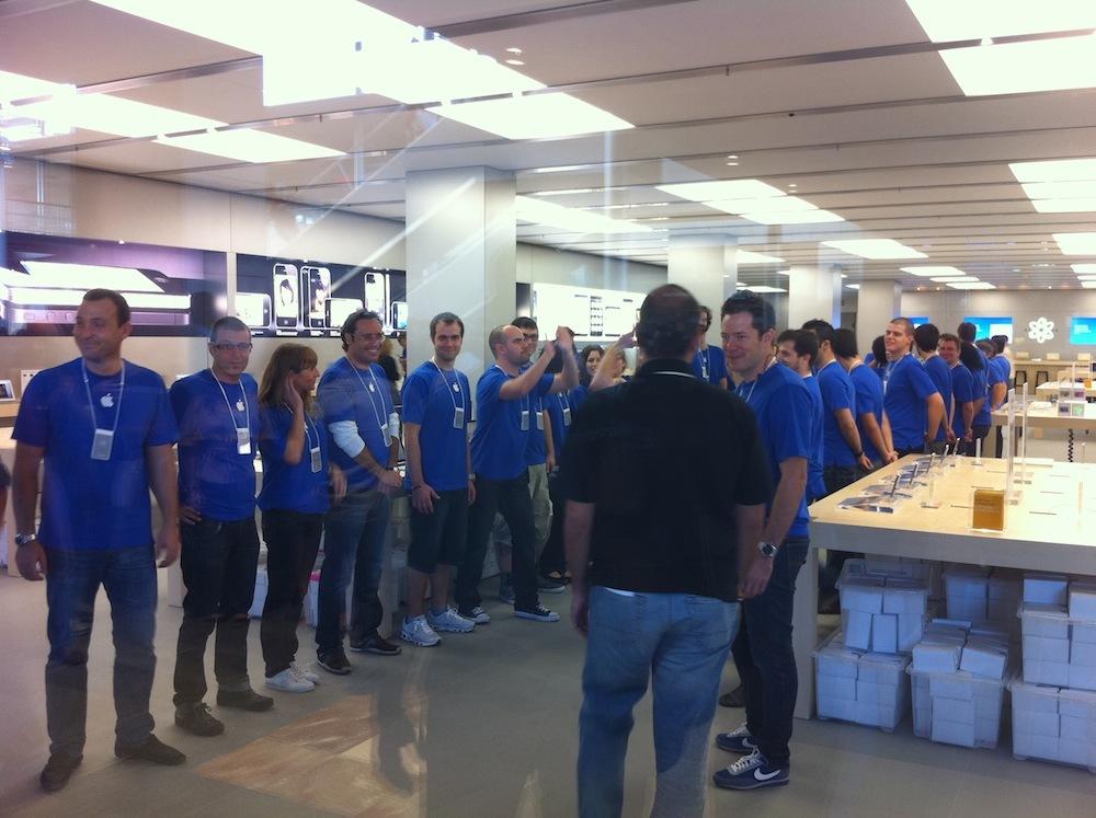Foto de Inauguración Apple Store La Maquinista (39/93)