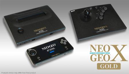 Neo Geo X Gold, la reedición de esta consola mítica llegará el 6 de diciembre a Europa