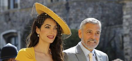 Boda del príncipe Harry y Meghan Markle: Amal Clooney apuesta por la melena y acierta