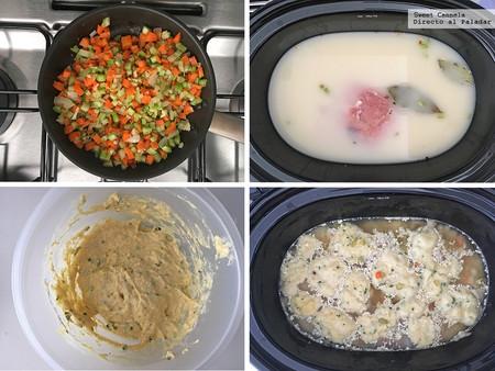 Sopa De Pollo Con Dumplings 2