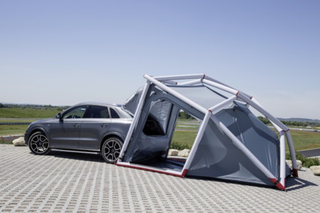 Puedes ser el más galáctico del camping con tu Audi Q3