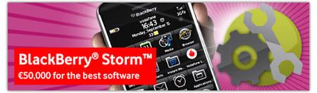 Vodafone: 70.000 € en premios para concurso de desarrollo en BlackBerry Storm