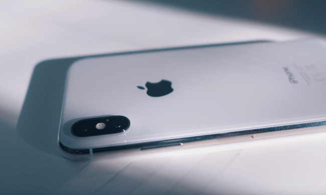 iPhone X detalle de la cámara