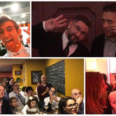 Así han vivido los chefs las nuevas estrellas Michelin: lagrimas, emoción y mucha fiesta