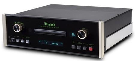 McIntosh MCD550, reproductor de CD/SACD de gama alta para usuarios exigentes
