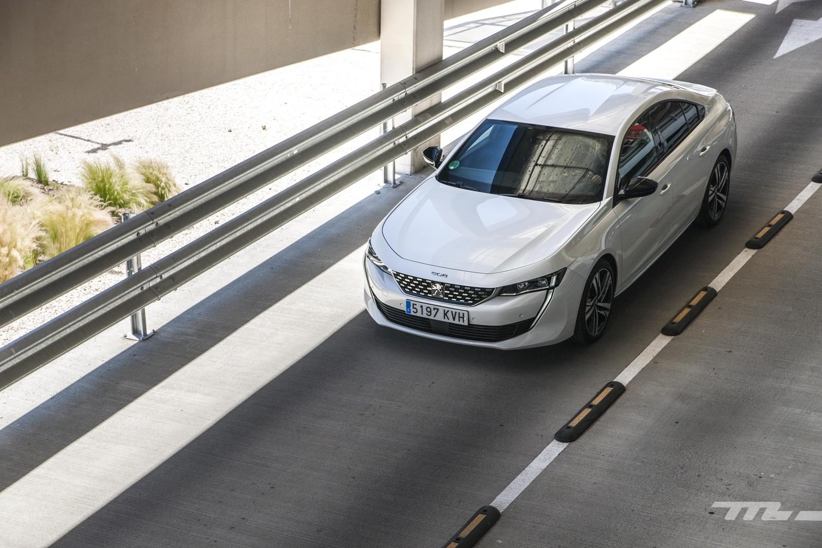 Foto de Peugeot 508 2019, prueba (33/37)