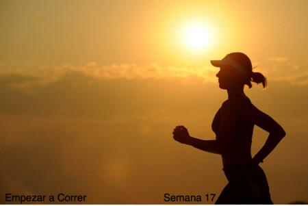 Entrenamiento para empezar a correr: semana 17