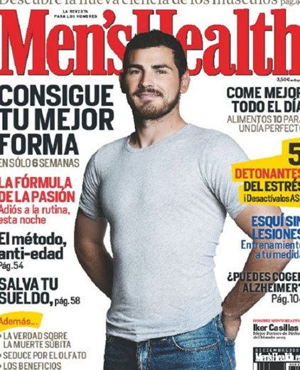 Iker Casillas tremendo en Men's Health ¡Ay Omá!