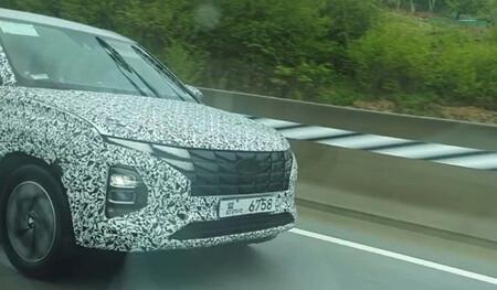 ¡Espiado! El Hyundai Creta prepara un facelift con el rostro de Tucson