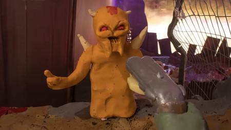 Los demonios del averno se vuelven de plastilina en este brutal corto stop-motion de Doom Eternal