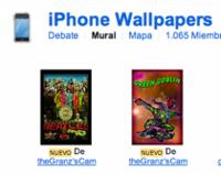 Pool de Flickr especializado en fondos para el iPhone