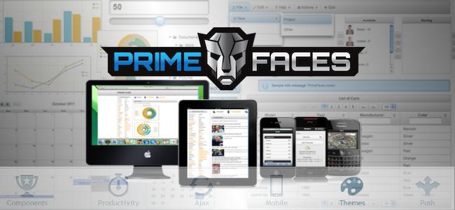 PrimeFaces framework sobre JSF2