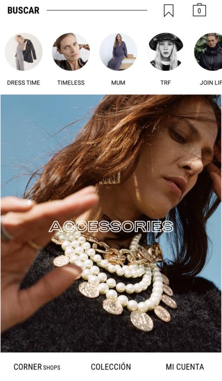 La nueva imagen móvil de Zara es clavadita a Instagram Stories (aunque nos gustaría que lo fuera más)