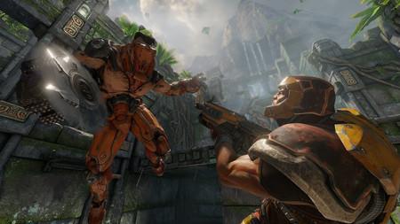Quake Champions nos presenta a Visor y Sacrificio, un nuevo campeón y un modo de juego que podremos probar todos