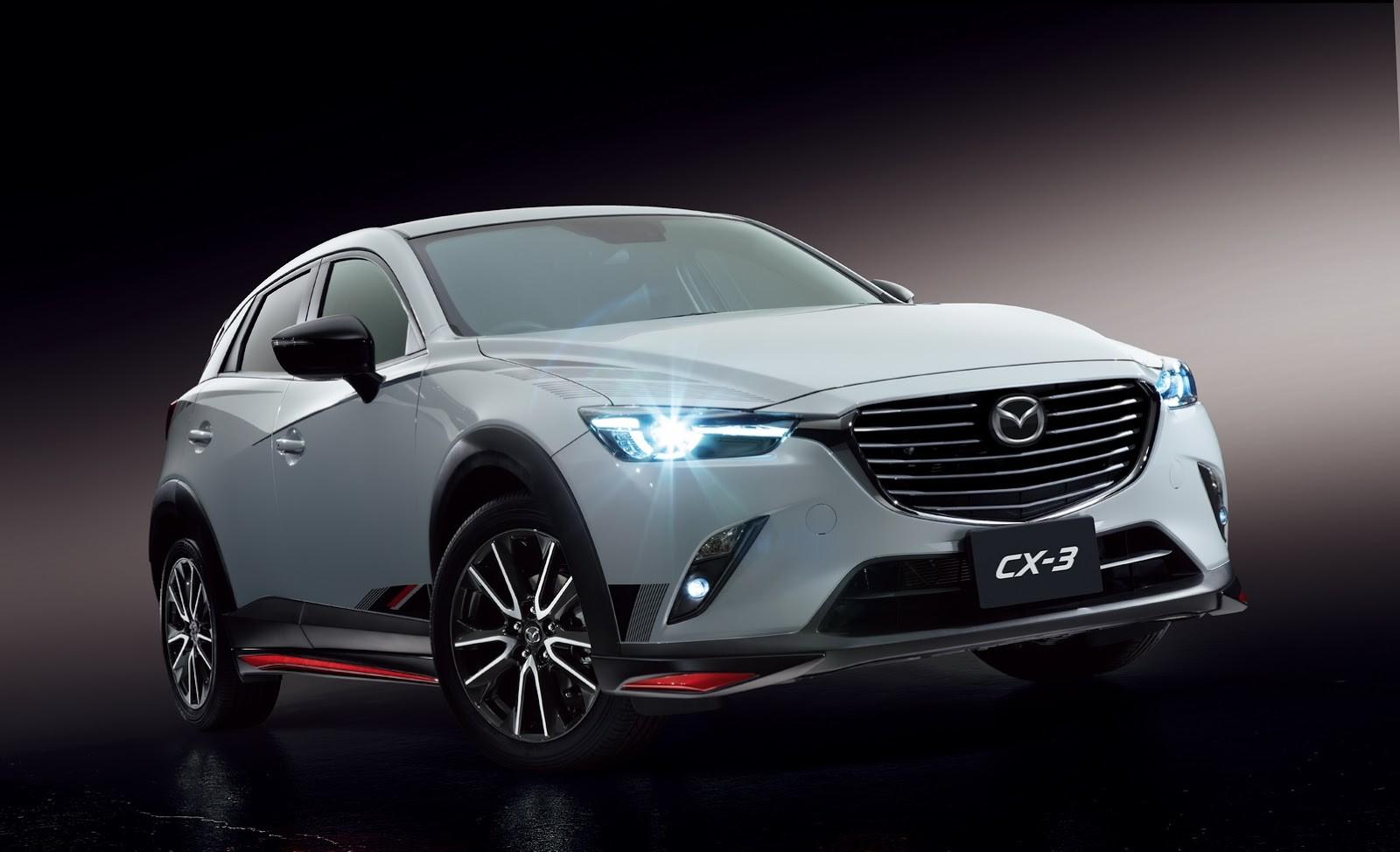 Accesorios para Mazda CX-3 - CX-5