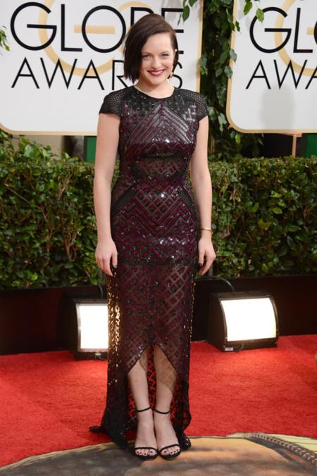 Elizabeth Moss Globos de Oro 2014
