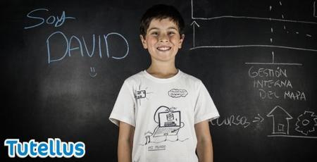 Tutellus presenta un curso de programación con David, un peque que programa desde los 8 años