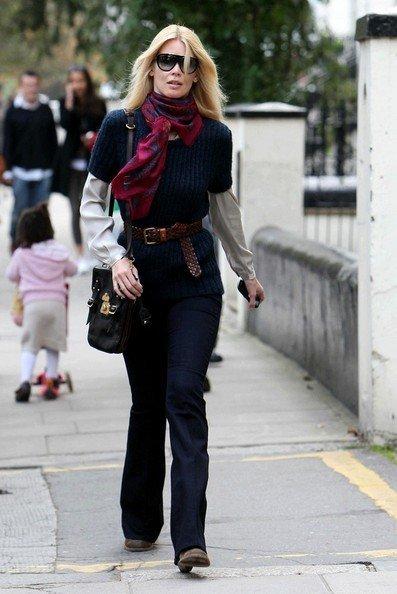 claudia blue knit