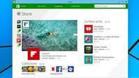 En Windows 10 la Windows Store podría ofrecer aplicaciones tradicionales y contenido digital