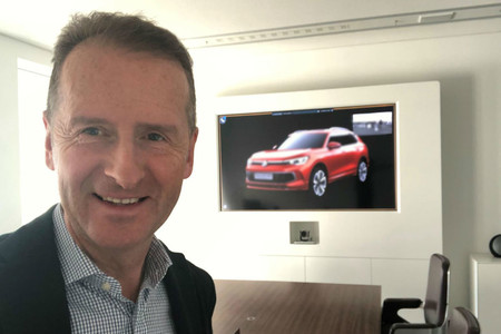 El CEO de Volkswagen parece haber filtrado el nuevo Tiguan, pero nadie entiende por qué