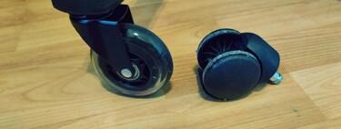 El fascinante mundo de las ruedas para sillas de oficina: gastar 20 euros para cambiarlas puede ser una bendición