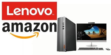 7 ordenadores de sobremesa de Lenovo que Amazon te ofrece rebajados