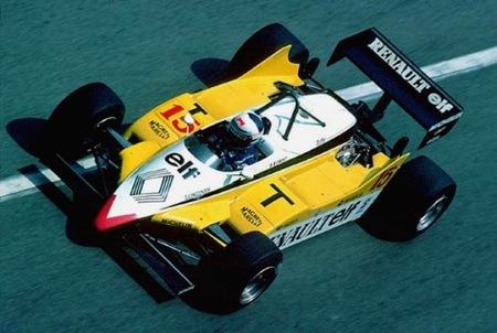El Renault RE30 uno de los Fórmula 1 turbo más recordados