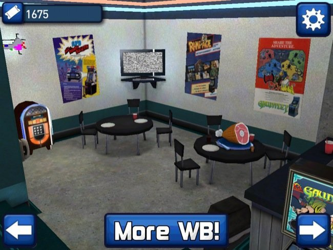 Sala de descanso de Midway Arcade