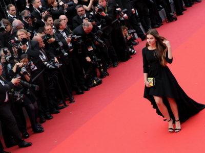 Thylane Blondeau y sus 15 años siembran la polémica en la alfombra roja de Cannes