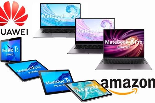 Ofertas en portátiles y tabletas Huawei: Amazon tiene mejores precios para estos 8 modelos de las gamas MediaPad y MateBook