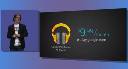 Google Play Music All Access, el nuevo servicio de música por streaming de Google
