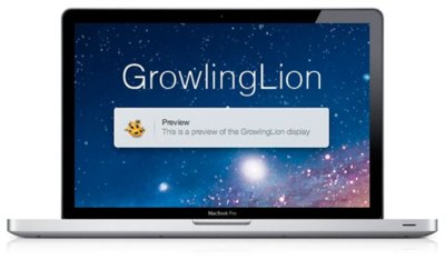 GrowlingLion, nuevo estilo de Growl acorde con Lion