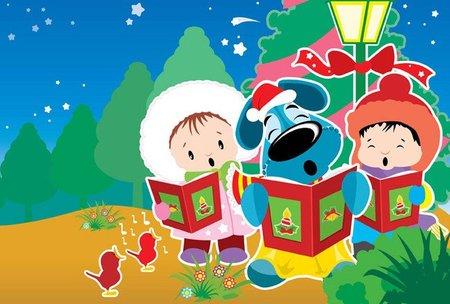 Sus primeros villancicos: una Navidad con mucho ritmo