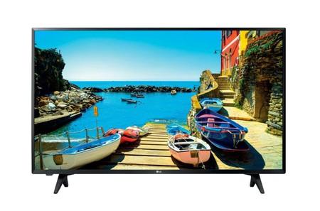 Oferta Flash: televisor de 43 pulgadas LG 43LJ500V, con resolución FullHD, por sólo 299 euros