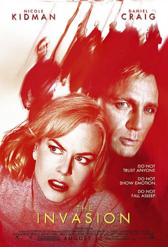 Póster de 'The Invasion', con Nicole Kidman y Daniel Craig